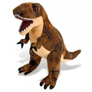 Peluche dinosaurio realista