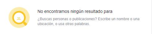 información pública en Facebook